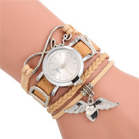 Women New Arrival Bracelet Watch Leather Band Stainless Stee...