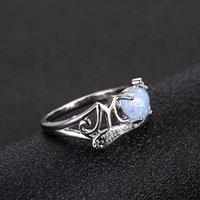 الماس القلب أوبال أمي خاتم المرأة خواتم عيد الأم الأزياء والمجوهرات هدية ساندي
