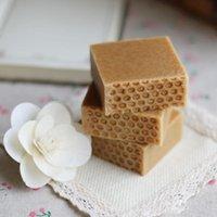 Natürliche handgemachte Propolis Honig Milch Seife Gesichtspflege Handgemachte Seife Auffüllen Haut Schönheit Bleichen Tiefe Reinigung