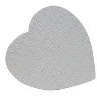Blank Heart Shaped Sublimation Puzzles Blank Pearl Jigsaw We...