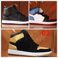 buy online 981df d1a86 Günstige 1 Top 3 Gebannt Zucht Chicago OG 1s Spiel Royal Blue Herren  Basketball-Schuhe
