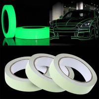 yentl envío libre de la cinta reflectante pegatinas de coches de bricolaje luz luminosa cintas de señalización noche oscura Glow