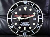 8 أسلوب Topselling ال الأزياء ممتازة 116610 116710 ساعة الحائط 34CM س 5cm 3KG الفولاذ المقاوم للصدأ الكوارتز الإلكترونية الأزرق الفلورسنت ساعة