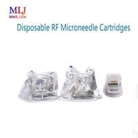 Micro aiguille d'or Cartouche 10/25/64 Pins pour machine Fractional micro-aiguille RF avec la certification CE