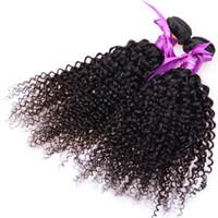 인도 곱슬 버진 머리카락 7A 제리 변태 곱슬 머리 버진 머리 브라질 버진 머리카락 컬리 짜기 3 또는 4 조각 저렴한 휴먼 번들