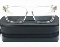 Boîte classique Déjeuner-A Lunettes Cadre Unisexe Square Imported Pure-Plank + Décoration de métaux 56-18-143 pour ordonnance Galssses