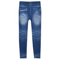 Kadın Denim Skinny Pantolon Yırtık Yüksek Bel Streç Kot Ince Kalem Pantolon