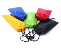 Bolsa de gafas de sol a prueba de agua Bolsa de teléfono celular de microfibra suave Gafas duraderas Bolsa de transporte Con cordón Gafas de sol Casos Accesorios para gafas VVA301