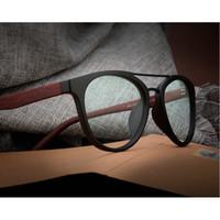 Atacado-MINCL / 2018 Frame Moda Homens Mulheres Marca Designers Limpar óculos de lente lxl