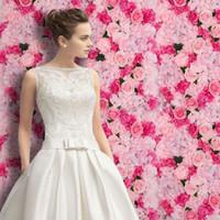 60x40 см романтичная искусственная розовая гортензия цветочная стена для свадьбы сцены и фон фон на фоне