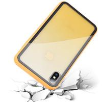 iPhone nuovo gradiente rampa 9H vetro caso trasparente, anti-caduta, protettiva caso telefono cellulare fresco e ultra-sottile iPhone x xr xsmax