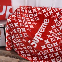 Soft Home Blanket Fashion Print Letter Blanket High Street S...