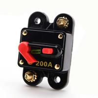 Bloque del seguro del tenedor del fusible del disyuntor del fusible del disyuntor 200A del disyuntor del audio para el automóvil