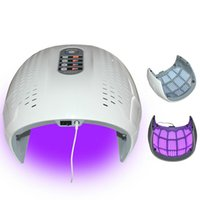 Light Therapy LED Venda quente dobrável LED 4 cores Facial Treatment Photon Terapia Máscara PDT rejuvenescimento da pele da face beleza máquina