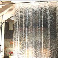 3d прозрачная занавеска Водный куб водонепроницаемый Очистить Душ занавес Ванна Занавески Ванна Stall 180 х 180 см