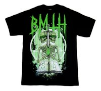 BRING ME THE HORIZON - Skeleton - T SHIRT New S- M- L- XL tee S...