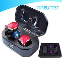 Bluetooth 5.0 g01 Écouteurs Touch Control Control Tws TWS sans fil Earbud 6D Surround HiFi Stéréo Headphone avec boîte de chargement Packaging Xamster