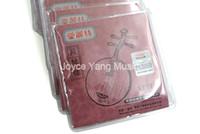 Alice AT711 Yue Qin Strings Örgülü Çelik Çekirdek Bakır Alaşım WireNylon Çekirdek Strings 1-4 Strings toptan 10 Setler