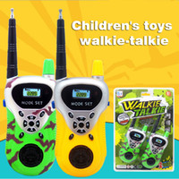 Creative Kids Interphone Camouflage Green Parents-Kids Interaction Wireless Interfono giocattolo educativo per bambini Interfono giocattolo