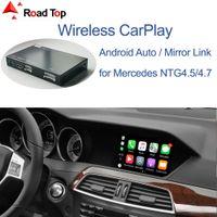 Беспроводной Carplay для Mercedes Benz C-Class W204 2011-2014, с Android Auto Morker Link Airplay Car Play Function