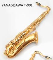 Tenore Saz di trasporto Giappone YANAGISAWA Hot T-901 Modello B Flat sassofono tenore strumento professionale