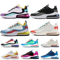 Free Shippping React Women Mens Running Shoes Right Violet B...