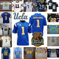 맞춤형 UCLA BRUINS 축구 유니폼 NCAA 대학 트로이 AIKMAN Maurice Jones-Drew Dorian Thompson-Robinson Joshua Kelley Demetric Felton Cota