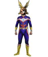 Benim Hero Academia Tüm Olabilir Cosplay Kostüm 3D kas Cadılar Bayramı Lycar Spandex Yüksek Kalite Zentai Bodysuit Parti Catsuit Jumpsuit Anime