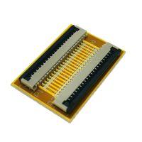 20 Pin 1.0mm placa del adaptador de enchufe del conector FPC FFC PCB, 20P cable plano se extiende de interfaz de la pantalla LCD