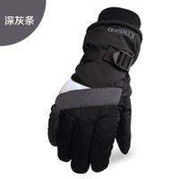 Der Norden gloves35 Skihandschuh Sport Warm Skifahren Thermal Herren Herbst-Winter-Kälte-Beweis wasserdicht Reiten Radfahren Arbeit Motorrad Handschuhe