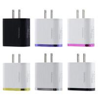 4 Port Fast Quick Charge QC 3.0 USB Hub carregador de parede 3A Power Adapter US / EU Plug