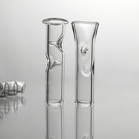 7 mm 30 mm Longitud de cristal del balanceo Consejos Embriagador punta de filtro de cigarrillo de tabaco seco de hierbas Cypress Hill Holder Phuncky Pipe Apisonadora