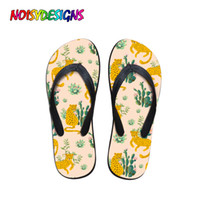 NOISYDESIGNS Fashion Outdoor Slippers Women Cactus Leopard P...