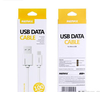Re max type-c USB Cable Fast Charging Data Sync Cable with Retail Package For Type-c micro usb android samsung