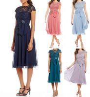 219 billige navy blaue spitze mutter der braut kleider vintage juwel neck mantel mutter formale abend tragen
