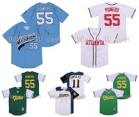 55 Kenny Powers Jersey Hokkaido Nippon-Ham Fighters 11 Shohei Ohtani Eastbound et Down Mexican Charros Movie Baseball Jersey 100% cousu