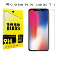 9H HD tempered glass for iphone X XS X Max XR 6s 6 7 8 plus ...