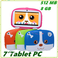"Kids Brand Tablet PC 7"" 7 inch Quad Core children Cute ..."