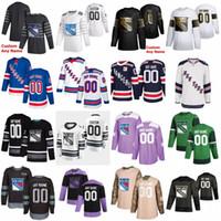 2020 All Star 20 Chris Kreider 10 Artemi Panarin Personalizado de New York Rangers Hockey Jersey 93 Mika Zibanejad 16 Ryan Strome 24 Kaapo Kakko