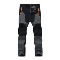 Oversized Men Hiking pants Waterproof Outdoor Pants Soft she...