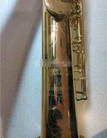 ياناجيساوا W020 سوبرانو الساكسفون آلات موسيقية B شقة براس وصول الذهب الطلاء الجديد الساكسفون شحن مجاني مع ملحقاتها