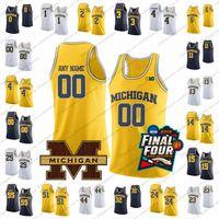 6c40250d8dc4 Custom Michigan Wolverines College Basketball Jersey Any Name Number 13  Ignas Brazdeikis 2 Jordan Poole 1 Charles Matthews 15 Jon Teske
