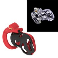 Coolest Newest Plastic Cock Cage Male Chastity Device Lock Y...