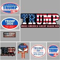 ترامب ملصقات السيارات العاكسة تجعل أمريكا العظمى again 2020 ترامب ملصقات الرئيس الأمريكي دونالد ترامب سيارة راية ملصق dhl WX9-1581
