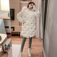 Mulheres para baixo parkas desivorador inverno bordado grande coleira de lã algodão acolchoado roupas espessadas médias casaco longo