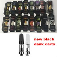 Glass Thick Oil Vape Cartridge With Black Dank Empty Vapes P...