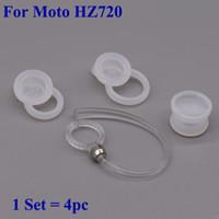 Para a Motorola Elite Flip HZ720 fones de orelha de pontas de orelha de Silicone Earbuds Ear Ear Gels Eargels ganchos 4pc / set frete grátis
