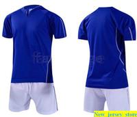 Top personnalisés Maillots de football Livraison gratuite à bas prix Remise en gros tout nom Pas de préférence Nombre Personnaliser Football Shirt Taille S-XL 381