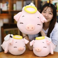 Angel Pig Stuffed Animal Collectible Plush Toys Pillow Patte...