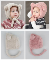 Baby Winter Warm Hat - Cute Bear Ear Toddler Beanie Newborn ...